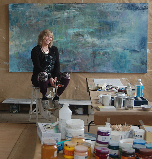 Mary Pfaff - Ottawa Ontario based Visual Artist