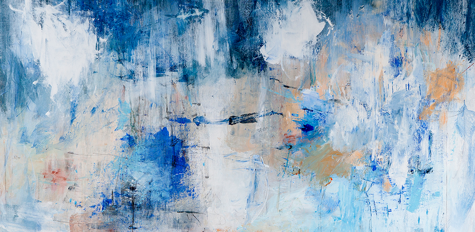 Detail of Across the Horizon by Mary Pfaff